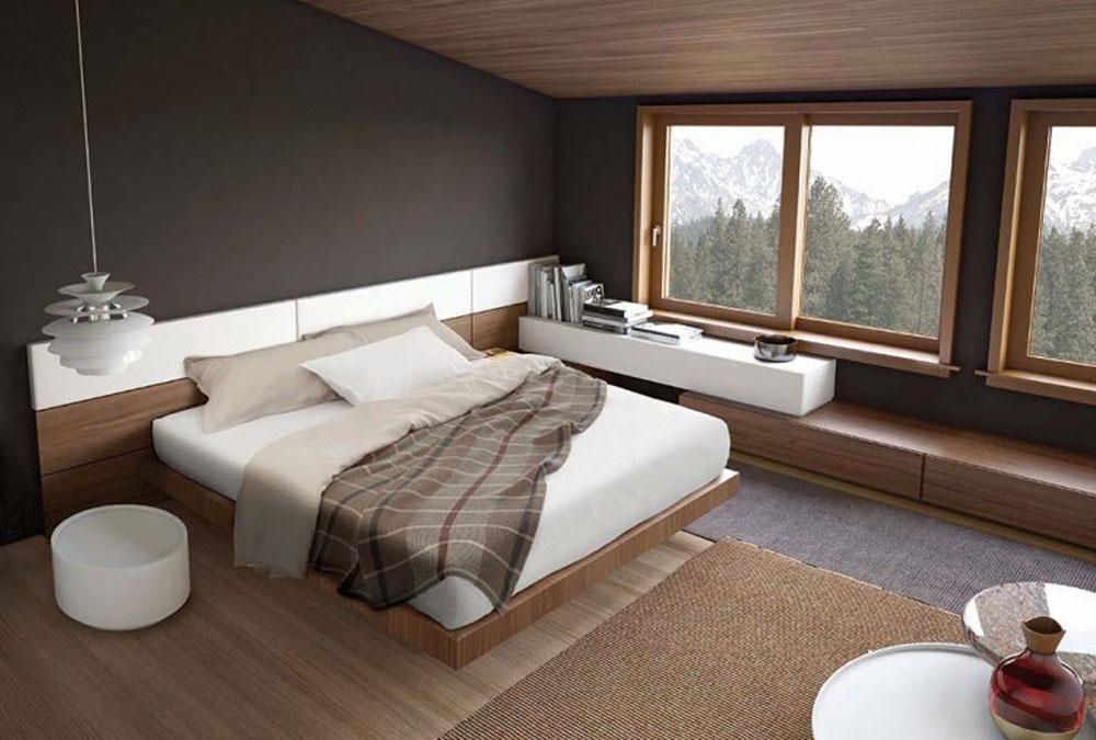 Camere da letto moderne con boiserie design casa - Arredamenti per camere da letto ...